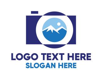 Souvenir - Mountain Photography  logo design