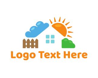 Estate - Nature House logo design