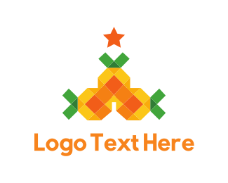 Holiday - Pineapple Tree logo design