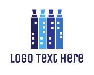 Buildings - Vape City logo design