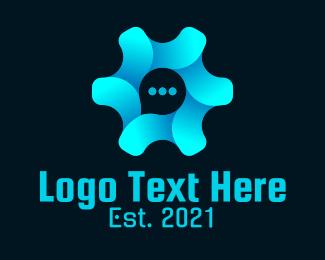 Communication - Gear Communication logo design