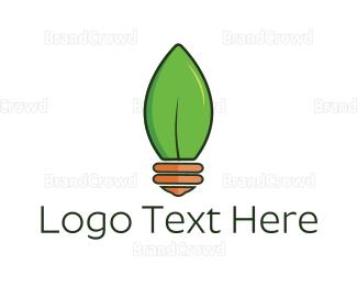 Bulb - Natural Light logo design