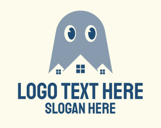 Ghost - Ghost House Studio logo design
