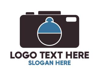 Cameraman - Camera Food logo design