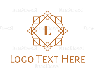 Belly Dancer - Geometric Circle Lettermark logo design