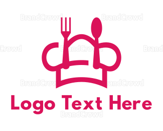 Dining - Pink Cook logo design