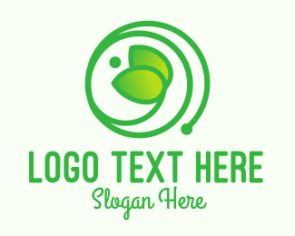 Sapling - Green Seedling logo design