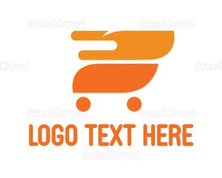 Cart - Fire Cart logo design
