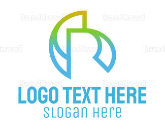 Branding - Abstract R logo design