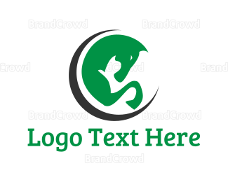 Cavalry - Green Horse logo design