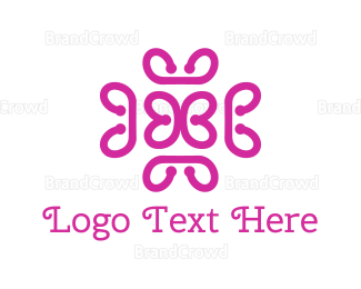 Generic - Pink Abstract Butterfly logo design