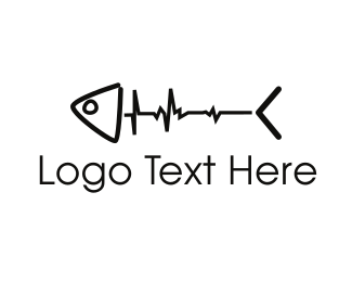 Seafood - Fish Pulse logo design