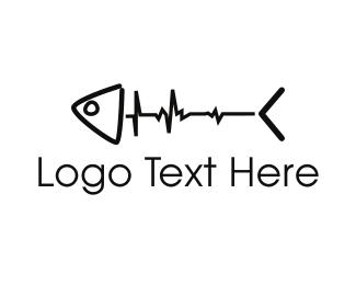 Seafood - Fish Pulse logo design