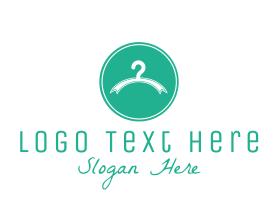 Fashion - Fashion Clothes Hanger logo design
