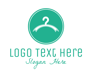 Fashion - Fashion Clothes Hanger logo design