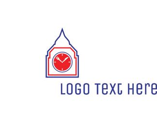 Clock Tower - Restaurant Clock Tower logo design