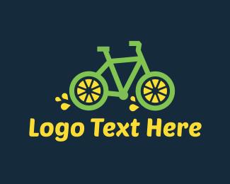 Lemonade - Lemon Bike logo design