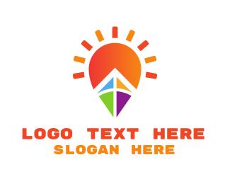 Kite - Bright Kite  logo design