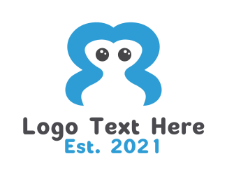 Orthodontic -  Abstract Creature logo design