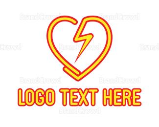 Technician - Electro Love logo design