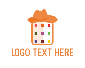 Cowboy - Hat Application logo design