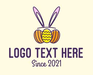 Egg Hunt - Easter Egg Hunt Holiday logo design