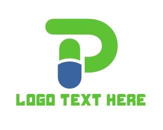 Capsule - Capsule Letter P logo design