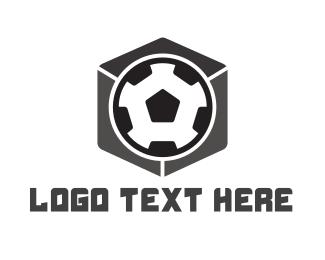 Fc - Soccer Cube logo design