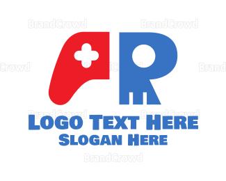 Remote - Skull Console Controller logo design