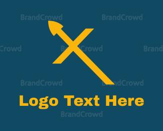 Blade - Yellow Spears logo design