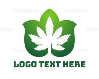 """Cannabis Leaf Pattern"" by town"