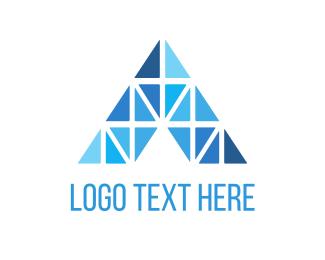 """Diamond Letter A"" by LogoBrainstorm"