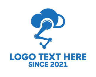 Robot - Robot Cloud logo design
