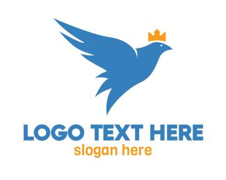 Sovereign - Crowned Pigeon logo design