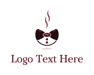Latte - Coffee Bow logo design