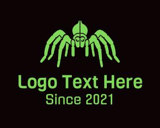 Neon - Neon Gaming Spider  logo design