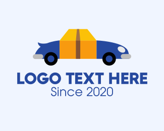 Rectangular - Package Delivery Vehicle logo design