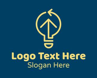 Electrical Engineer - Lightbulb Electric Utility  logo design
