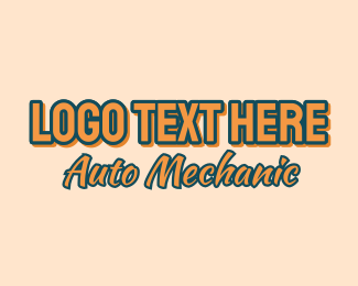 """Auto Mechanic Wordmark"" by brandcrowd"