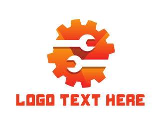 Gears - Gear Wrench logo design