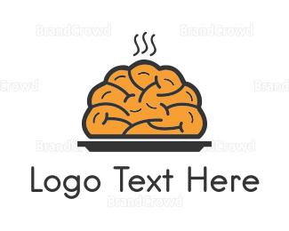 Smart - Brain Food logo design