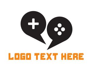 Forum - Game Forum Chat logo design