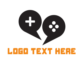 Community - Game Chat logo design