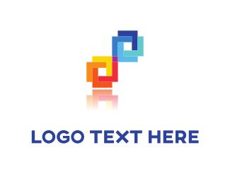 Electronics - Pixel Tie logo design