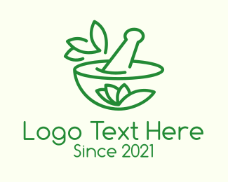 Medical Drug - Green Alternative Medicine  logo design