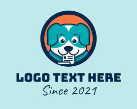Puppy Dog Document  Logo