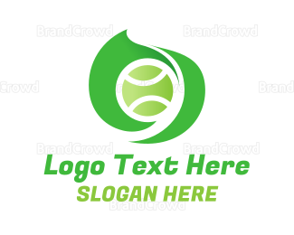 Tennis - Tennis Sport Swirl logo design