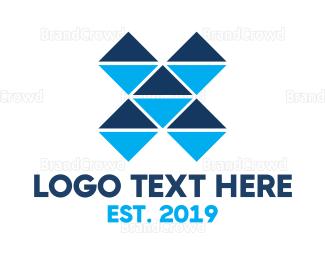 Computer - Mosaic X Gaming logo design