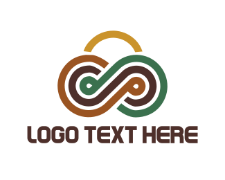 Outdoor - Circuit Mountains logo design