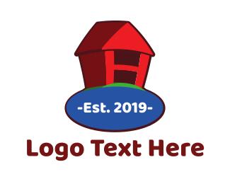 Earth - Home Planet logo design